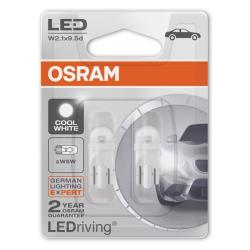 lampara OSRAM COOL WHITE LED 5W Duo Pack