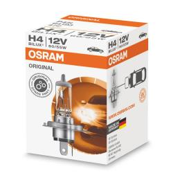 lampara OSRAM ORIGINAL H4 60/55 Single Pack
