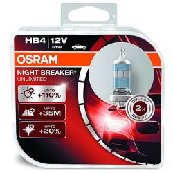 lampara OSRAM NIGHT BREAKER UNLIMITED HB4 51 Duo Pack